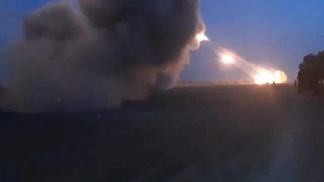 Azerbaycan ordusu, Ermenistan askerlerini bu kez top atışlarıyla püskürttü