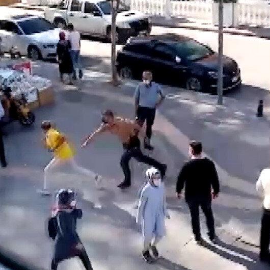 Niğdede maske kuralını ihlal eden adam, polis ceza kesmek isteyince kaçmaya çalıştı