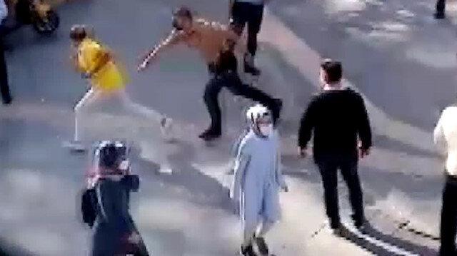 Niğde'de maske kuralını ihlal eden adam, polis ceza kesmek isteyince kaçmaya çalıştı