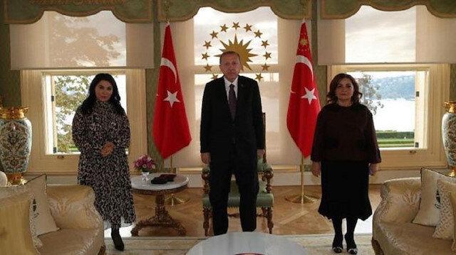 Cumhurbaşkanı Erdoğan, Azerbaycanlı aydınları kabul etti