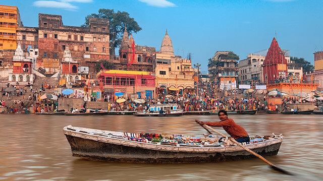 Ganj'la beslenen kutsal şehir: Varanasi
