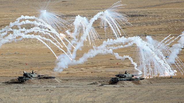 TSK duyurdu: İlk defa OMTAS tanksavar ve Kargu Kamikaze İHA ile hedefler imha edildi
