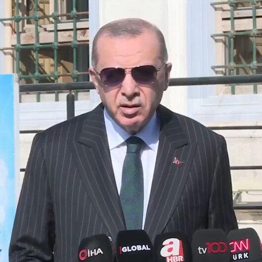 Cumhurbaşkanı Erdoğandan S-400 açıklaması: ABDnin yaklaşımı bizi bağlamaz