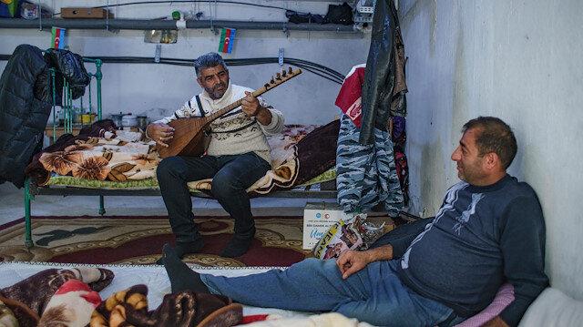 Azerbaycan'ın Terter ketinde halk günlerdir sığınaklarda yaşam mücadelesi veriyor