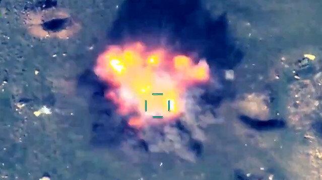 Ermenistan askerleri kaçacak delik arıyor: Azerbaycan ordusu hedefleri tek tek imha etti