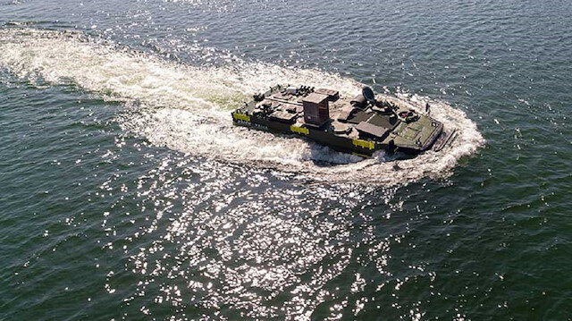Türkiye'nin en büyük savaş gemisi için geliştirildi: Hem karada hem de suda gidecek
