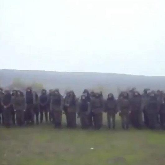 Ermeni komutan kaçan askerleri ikna etmeye çalıştı: Kalkın ve görevinize devam edin