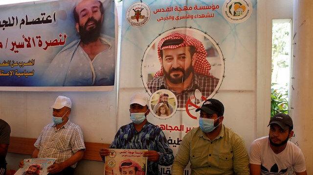 Açlık grevindeki Filistinli tutuklu Ahres'in sağlık durumu 'kritik'