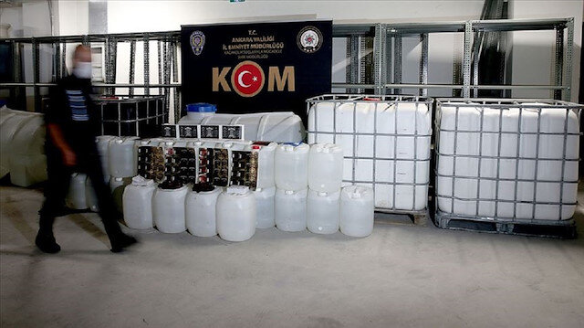 Bakanlık sahte içki bilançosunu açıkladı: 142 imalathane deşifre edildi