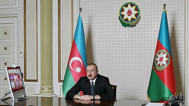 Aliyev, Dağlık Karabağ'da ateşkes için şartını açıkladı