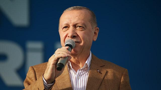 Cumhurbaşkanı Erdoğan: Bizi hedeflerimizden vazgeçirmeye isteyenlere cevabımızı yatırımlarla veriyoruz