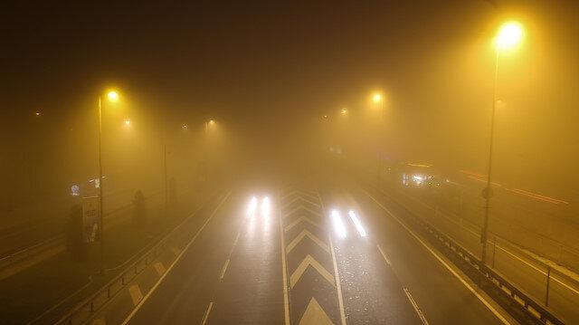 İstanbul'da sis etkili oldu, görüş mesafesi kısaldı