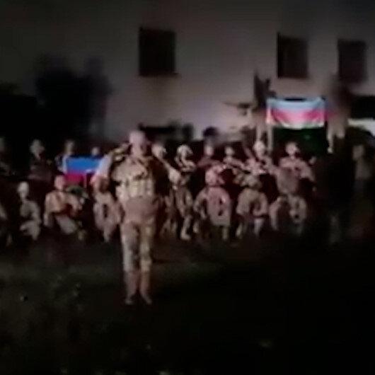 Azerbaycan ordusu Gubadlı şehrinin Ermenistan işgalinden kurtarıldığını video ile duyurdu