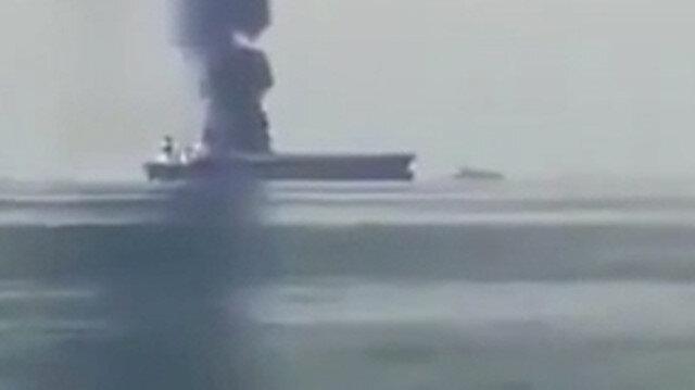 Rusya'ya ait petrol tankerinde patlama