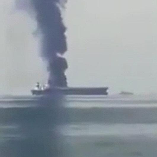 Rusyaya ait petrol tankerinde patlama