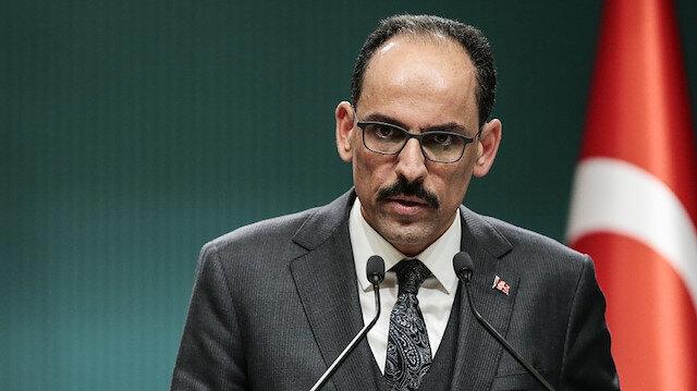Cumhurbaşkanlığı Sözcüsü İbrahim Kalın: Aliyev meseleyi güzel özetledi, ateşkes isteyenler Ermenistan'a silah gönderiyor
