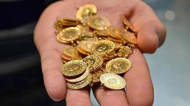 Kapalıçarşı'da altın fiyatları: Çeyrek altın 804 lira oldu