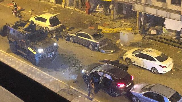 İskenderun'da patlama: 1 terörist etkisiz