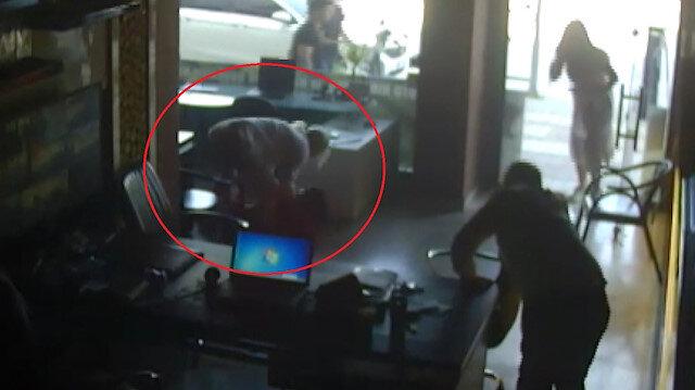 Görüntüler ortaya çıktı: Alper, hamile eşinin gözü önünde öldürüldü