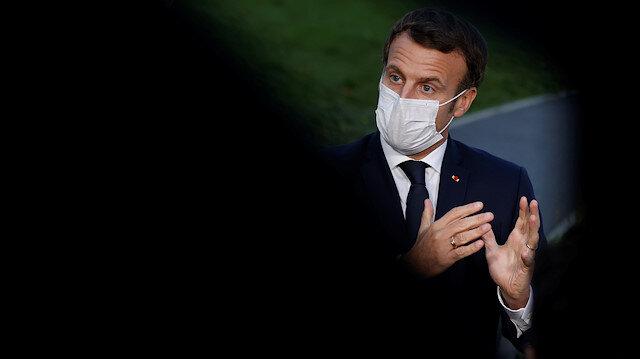 İslam düşmanı Macron boykotu görünce Arapça paylaşım yaptı: Asla pes etmeyeceğiz