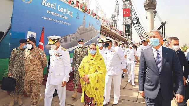 MİLGEM Pakistan'a güç katacak