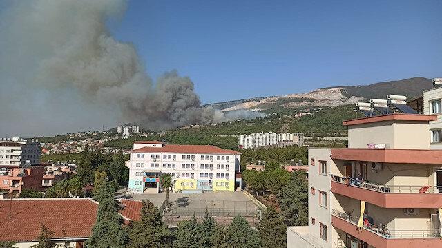 İskenderun'daki bir ormanda daha yangın çıktı: Alevler yerleşim yerlerine yaklaştı