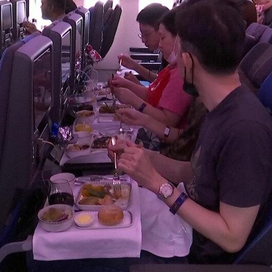 Singapur Havayollarından uçak yemeğini özleyenlere ilginç çözüm