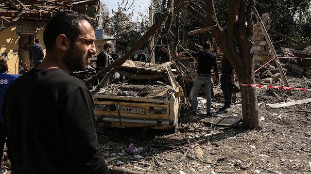 Ermenistan'ın savaş suçlarına bir yenisini ekledi: Azerbaycan köyünü misket bombasıyla vurdu