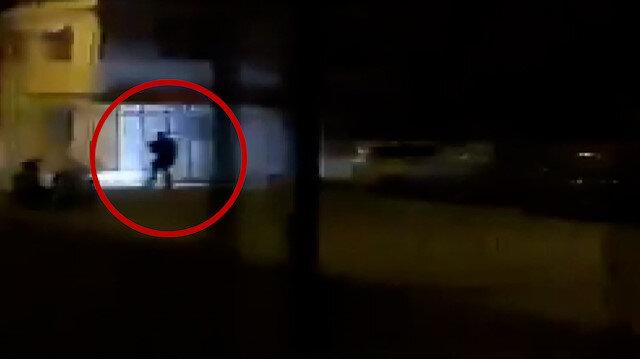 İskenderun'da ikinci teröristin vurulma anı ortaya çıktı