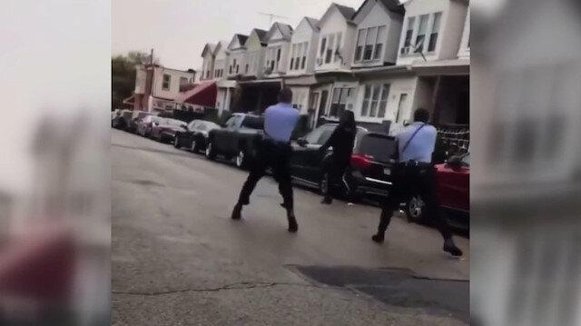 ABD'de iki polis siyahi Walter Wallace'ı kurşunlayarak öldürdü, sokaklar karıştı