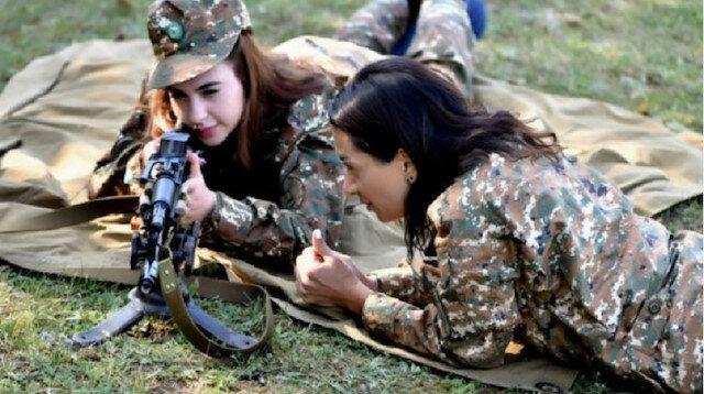 Hezimete uğrayan Ermenistan Başbakanı Paşinyan'ın eşi cepheye gidiyor