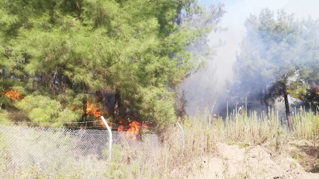 Dün gece saldırı girişimi olmuştu: Hatay'da farklı noktalarda yangın çıktı