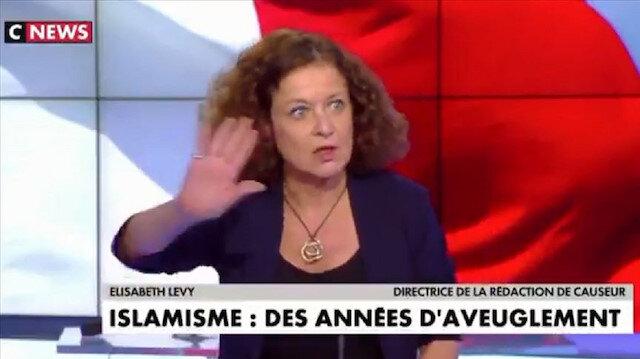 Fransız gazeteciden skandal sözler: Müslümanlar Paty'nin anısına başörtüsünü çıkarsın