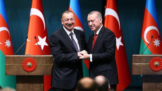 Azerbaycan Cumhurbaşkanı Aliyev 29 Ekim için tebrik mektubu gönderdi