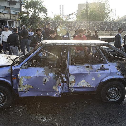 Ermenistanın Berde şehir merkezine düzenlediği saldırıda 14 sivil hayatını kaybetti