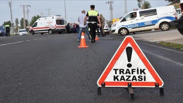 Çorum'da trafik kazası: 2 kişi hayatını kaybetti