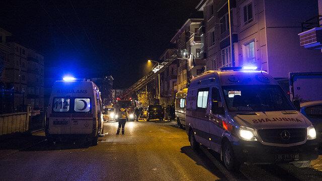 Ankara'da doğalgaz patlaması: Üç yaralı var