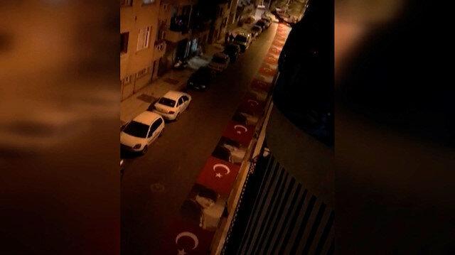 CHP'li Alaşehir Belediyesinde Türk bayrağının caddeye serilmesine soruşturma