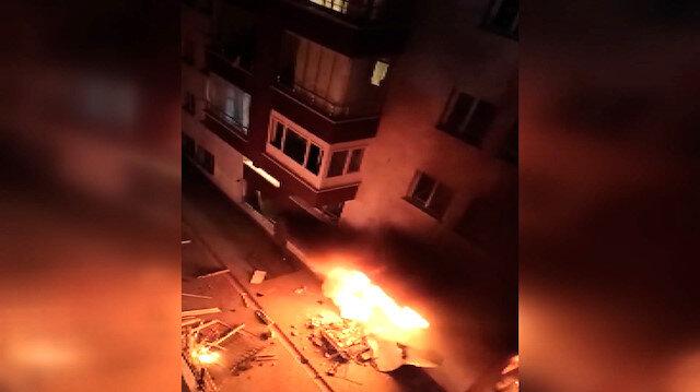 Ankara Mamak'ta bir apartmanın zemin katında doğal gaz patlaması meydana geldi: 3 yaralı