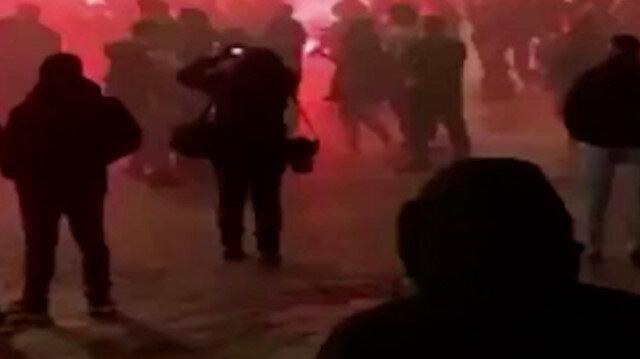 İtalya'da protestocular polisle çatıştı