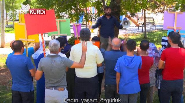 PKK yandaşları ve HDP'den 'skeç' yayınlayan TRT Kürdi'ye tehdit