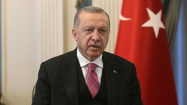 Cumhurbaşkanı Erdoğan'dan 29 Ekim mesajı: 2023 hedeflerimize ulaşma kararlılığı içinde yolumuza devam ediyoruz