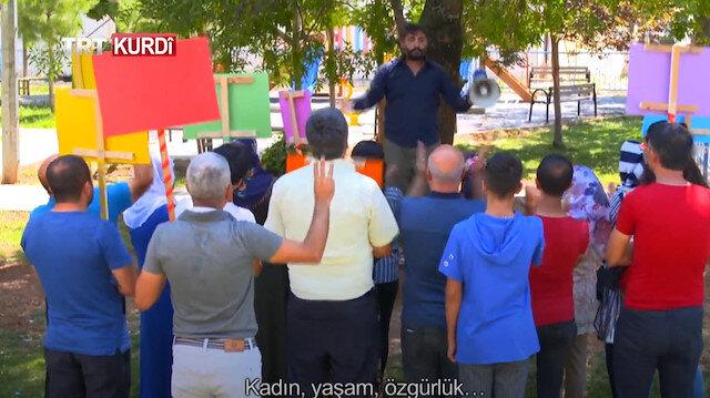 'Kayyum' ve 'kadına şiddet' skecini yayınlayan TRT Kürdi'ye HDP'den tehdit
