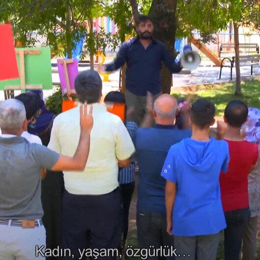 Kayyum ve kadına şiddet skecini yayınlayan TRT Kürdiye HDPden tehdit