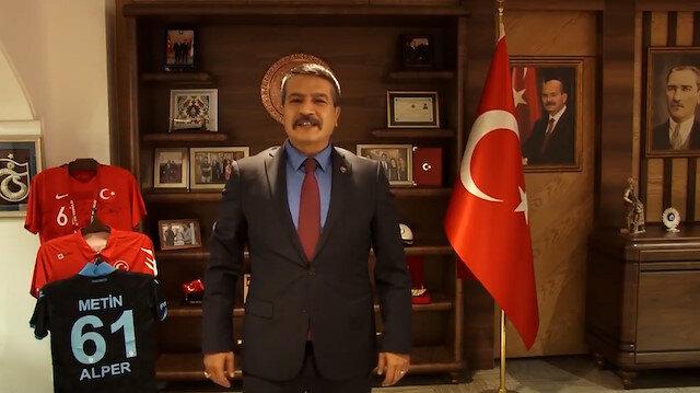 Trabzon Emniyet Müdürü Metin Alper'den Mevlid Kandili paylaşımı