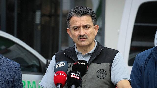 Tarım ve Orman Bakanı Bekir Pakdemirli: İskenderun'daki yangın kontrol altına alındı