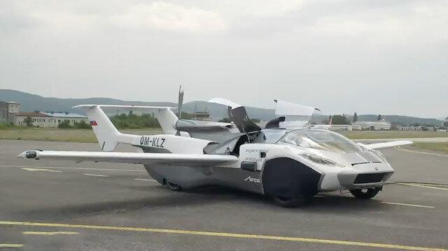Üç dakika içerisinde otomobilden uçağa dönüşen AirCar tasarımıyla dikkat çekti