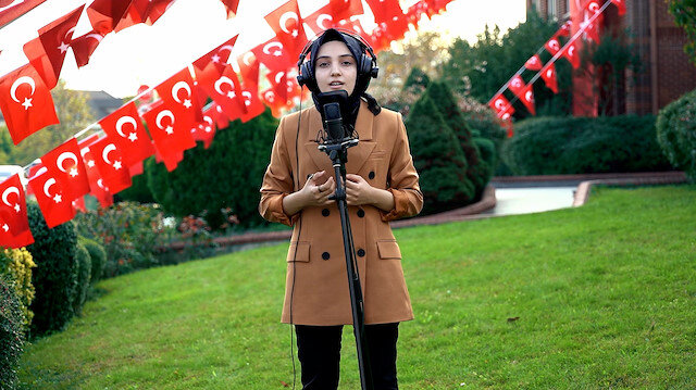 Başakşehirli gençlerden Can Azerbaycan'a gardaş selamı