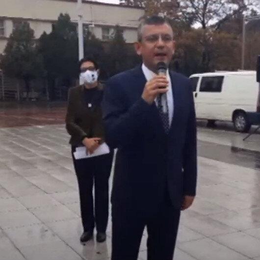 CHP Grup Başkanvekili Özel: İzmir Marşını okuyunca yağmur yağmayı kesti yolumuz aydınlandı