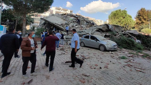 Cumhurbaşkanı Erdoğan: İzmir'de meydana gelen depremden etkilenen tüm vatandaşlarımıza geçmiş olsun